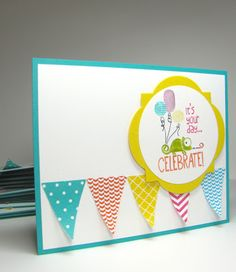 nice people STAMP!: Stampin' Up! Convention 2013 - Tag It Card Swap #2