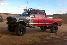 Good off-roading truck :) Ford 4x4, Ford Pickup Trucks, 4x4 Trucks, Custom Trucks, Cool Trucks, Chevy Trucks, Obs Truck, Custom Cars, Ford Diesel