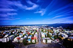Iceland...love the bright rooftops