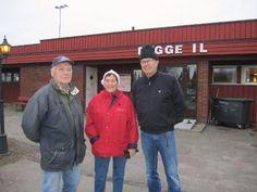Erik Svendsen (fra venstre), Reidun Andersen og Hans Jørn Rønningen var noen av deltagerne i den 30. romjulsmarsjen i regi av Rygge Friluftslag og trimgruppen i Rygge IL.