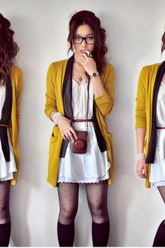 mustard yellow...love