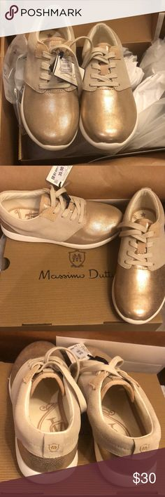 Massimo Dutti pink laminated sneakers size 4.5 Spanish brand Massimo Dutti adorable pink laminated sneakers, size 4.5. Still in original box with tags. Never been worn. Massimo Dutti Shoes Sneakers