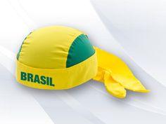 Bandana Personalizada Copa 2014 VC1108 Modelo esportiva Copa 2014, regulador laço (coloque sua logo e monte sua cor predileta).