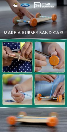 LittleThings is teaming up with Ford to present 'Make a Rubber Band Car!'