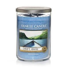 Yankee Candle Drift Away(tm) Large Tumbler Scented Candle: Amazon.co.uk: Kitchen & Home