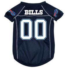 Buffalo Bills Dog Jersey [BIL-Jer] - $29.95 : Old Timer Sanctuary, Helping shelters and rescues become more sustainable, for the latest NFL gear, apparel, collectibles, and merchandise for pets.