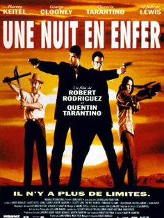 Une nuit en enfer est un film de Robert Rodriguez avec George Clooney, Quentin Tarantino. Synopsis : Deux criminels prennent une famille en otage près de la frontière mexicaine, après une cavale particulièrement sanglan