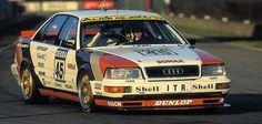 In 1991 #Audi became the first manufacturer to successfully defend the DTM title // 1991 war Audi der erste Hersteller, dem es gelang, den DTM-Titel erfolgreich zu verteidigen #winwithaudi