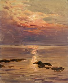 The Athenaeum - Seascape (Konstantin Westchilov - )