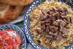Özbek Yemekleri: En Lezzetli 4 Özbek Tarifi! Cooked Sushi Recipes, Cooking Recipes, Healthy Recipes, Uzbekistan Food, Healthy Sushi, Pastry Cook, Sushi Lunch, Homemade Sushi, Best Sushi