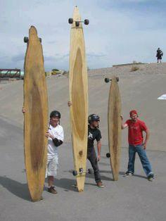 well that longboard is very.... long
