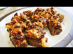ButterFinger Cheesecake Brownies - Le Cordon Bleu Recipe