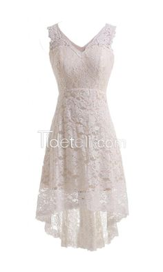 Looking for the perfect Joyno Bride V-Neck Lace Hi-Lo Ivory Evening Dress For Reception Wedding Dress As Picture)? Please click and view this most popular Joyno Bride V-Neck Lace Hi-Lo Ivory Evening Dress For Reception Wedding Dress As Picture). Lace Bridal, Short Lace Wedding Dress, V Neck Wedding Dress, Wedding Attire, Simple Country Wedding Dresses, Wedding Dress Casual, Wedding Gowns, Western Wedding Dresses, Elegant Wedding