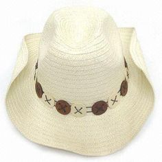 Cowboy Hat, Environment-friendly, Made of Paper, Various Sizes, Shapes/Colors are Available