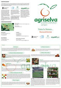 Brochure per azienda agricola