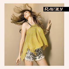 A moda do verão só pra você #ravely jeans