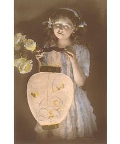 chinese lantern girl