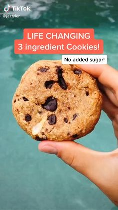 Good Healthy Recipes, Healthy Dessert Recipes, Healthy Baking, Snack Recipes, Healthy Food, Dessert Food, Dinner Healthy, Healthy Cookies, Healthy Snacks For Kids