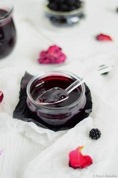 Geleia de amora e rosa {com agar-agar}