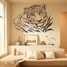 Wall Decal Tiger Leopard Print Jaguar Panther Wild Cat Wildcat African Animals Safari Vinyl Sticker Home Décor Bedroom Nursery Room Living Room Murals M67 DecalStoreVienna http://www.amazon.com/dp/B0187PXLPA/ref=cm_sw_r_pi_dp_ZvItwb1ZNF57K