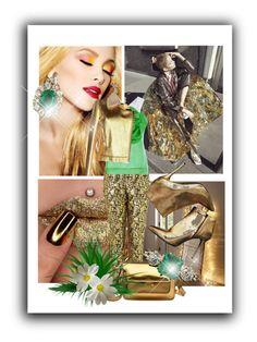 """Gold"" by kari-c ❤ liked on Polyvore featuring Restoration Hardware, Marni, Alexander McQueen, Prabal Gurung and Miu Miu"