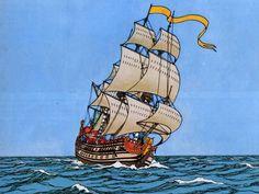 Tintin ~ Enhörningen