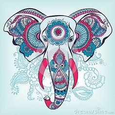 desenhos elefantes da india - Pesquisa Google
