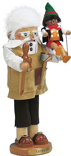 This Nutcracker is made by the legendary Steinbach company. German Christmas Nutcracker Geppetto.