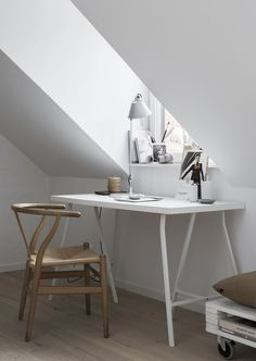 A small loft with space for everything