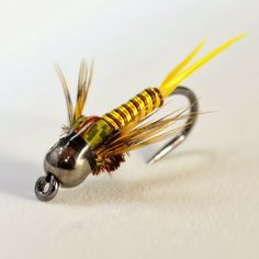 Fly Fish Food -- Fly Tying and Fly Fishing : Copper John -- Skwala Style.