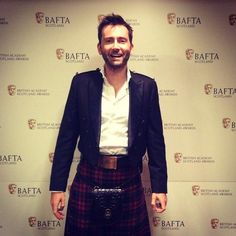 David Tennant at BAFTA Scotland. November 16, 2014. OMG! I love his new haircut. Everything about this photo works for me. :D