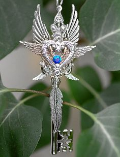 Wings of my Heart Key by KeypersCove on Etsy, $55.00