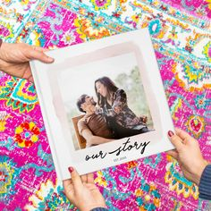 7 Amazing Photo Book Ideas From Creators Like You — Mixbook Inspiration Wedding Photo Books, Wedding Book, Wedding Photos, First Anniversary, Anniversary Photos, Best Photo Books, First Year Of Marriage, Special Images, Newlywed Gifts