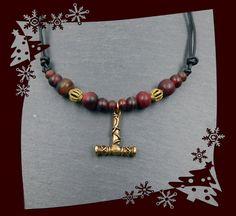 Wikinger Halskette mit großem Thorshamer von BelanasSchatzkiste