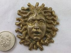 medusa brooch - Google Search