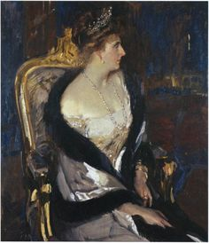 Reina Victoria Eugenia de España.