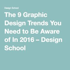 Graphic Design subjects to interest you in college
