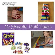 10 Favorite Math Games
