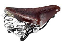 Brooks B66 Leather Bicycle Saddle