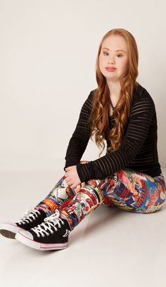 Madeline Stuart is an 18-year-old girl with Down Syndrome who wants to break into the modeling agency — and her photos are gorgeous!