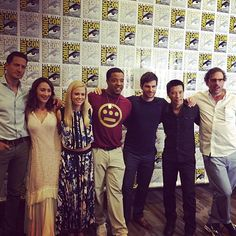 The @nbcgrimm cast looking  in the #SDCC press room after their awesome panel! #Grimm