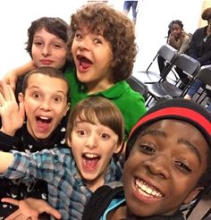 Stranger things cast / precious
