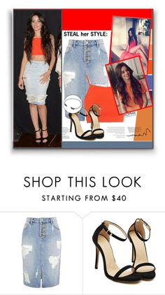 """""""Steal her style: Camila Cabello"""" by aminkicakloko ❤ liked on Polyvore featuring women's clothing, women's fashion, women, female, woman, misses and juniors"""
