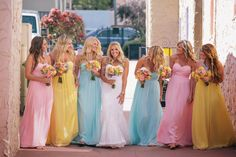 Bridesmaids dresses you can rent! Order a free swatch at Little Borrowed Dress!