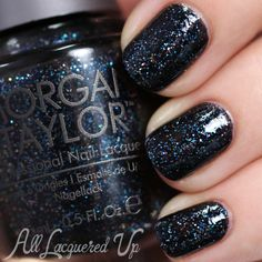 Morgan Taylor Midnight Rendezvous - Holiday 2014 via @alllacqueredup