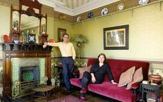 A pair of committed modernists have turned their living-room into a temple to   the Aesthetic Movement.