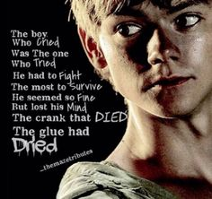 "Newt deserved paradise modre than anybody! He tried to kill him self in the maze! And then james is like ""HAHAHA LET ME RUIN ANGIRLS LIVES! Maze Runner Funny, Maze Runner Thomas, Maze Runner The Scorch, Maze Runner Cast, Maze Runner Movie, Maze Runner Quotes, Maze Runner Trilogy, Maze Runner Series, James Dashner"