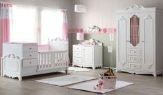 inegöl Flower Bebek Odası Pink