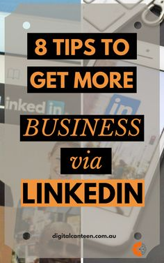 Looking for ways to widen your network and get more business? You need to implement a linkedin marketing strategy. Here are 8 tips to expand your business with linkedin. Linkedin Business, Linkedin Help, Business Tips, Business Entrepreneur, Online Business, Digital Marketing Strategy, Content Marketing, Social Media Marketing, Social Networks