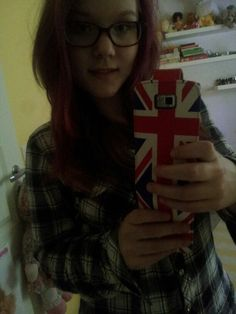 Fashion, girl loves UK and pink hair.